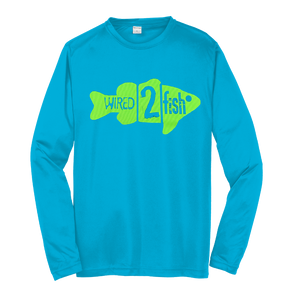 Competitor Long Sleeve Performance T-Shirt - Atomic Blue