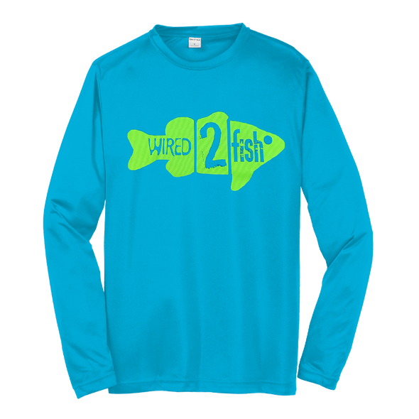 Sport-Tek® PosiCharge® Competitor™ Long Sleeve T-Shirt - Atomic Blue