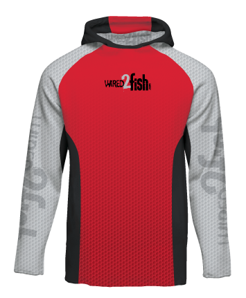 Mens Neck Buff Long Sleeve Performance Shirt