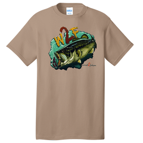 W2F Bass T-Shirt - Tan