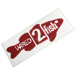 Wired2Fish Red Fish Decal