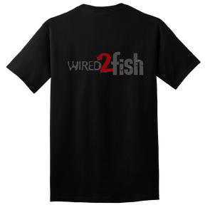 Wired2Fish Logo T-Shirt - Black