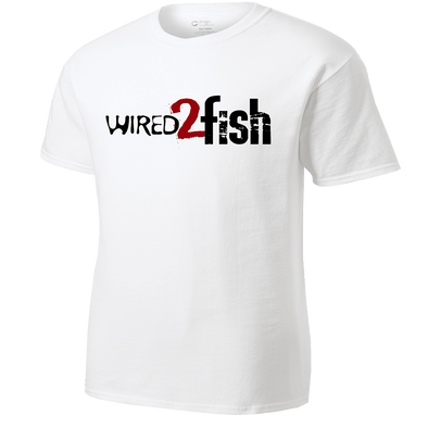Wired2Fish Logo T-Shirt - White