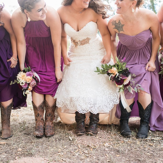 Spring Weddings and Cowgirl Boots.