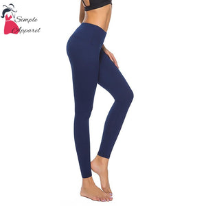 Quick-Drying Running Tight Compression Yoga Pants Blue / M