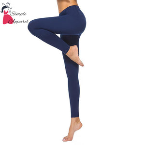 Quick-Drying Running Tight Compression Yoga Pants Blue / S