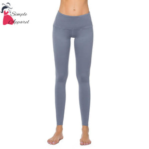 Quick-Drying Running Tight Compression Yoga Pants Gray / M