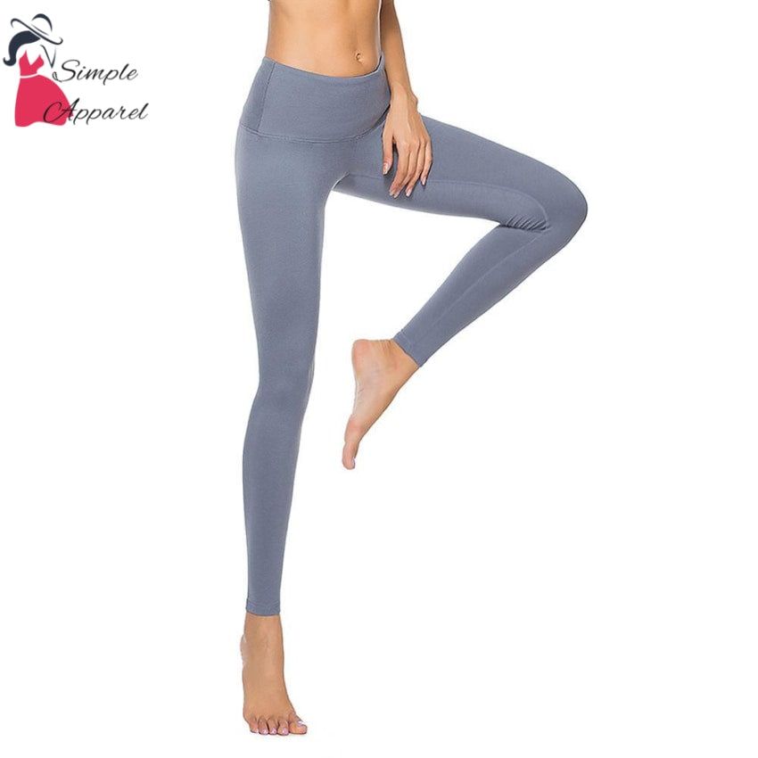 Quick-Drying Running Tight Compression Yoga Pants Gray / S