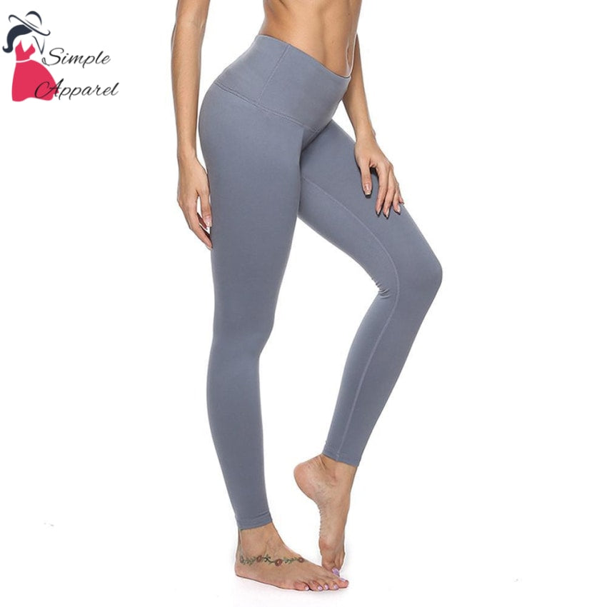 Quick-Drying Running Tight Compression Yoga Pants Gray / Xl