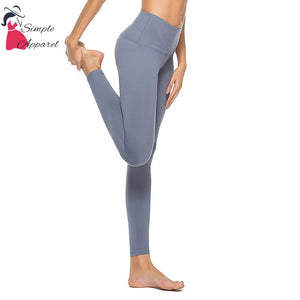 Quick-Drying Running Tight Compression Yoga Pants Gray / Xxl