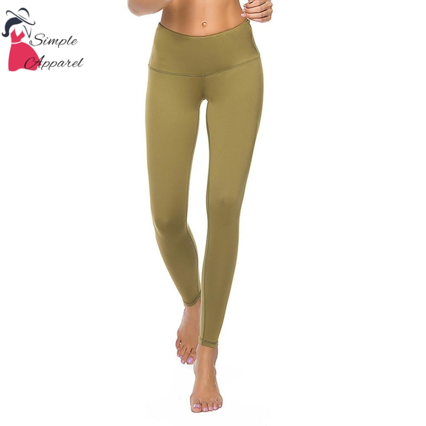 Quick-Drying Running Tight Compression Yoga Pants Green / L