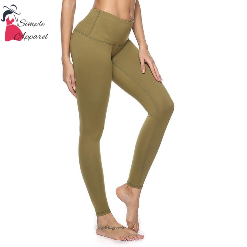 Quick-Drying Running Tight Compression Yoga Pants Green / M