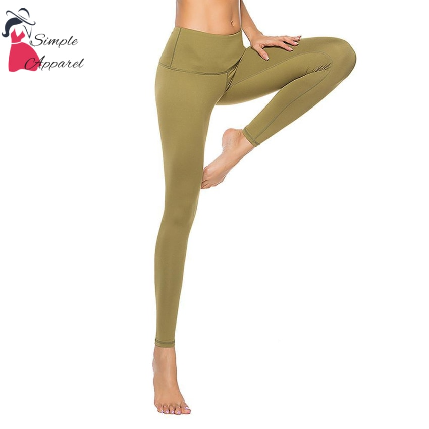 Quick-Drying Running Tight Compression Yoga Pants Green / S