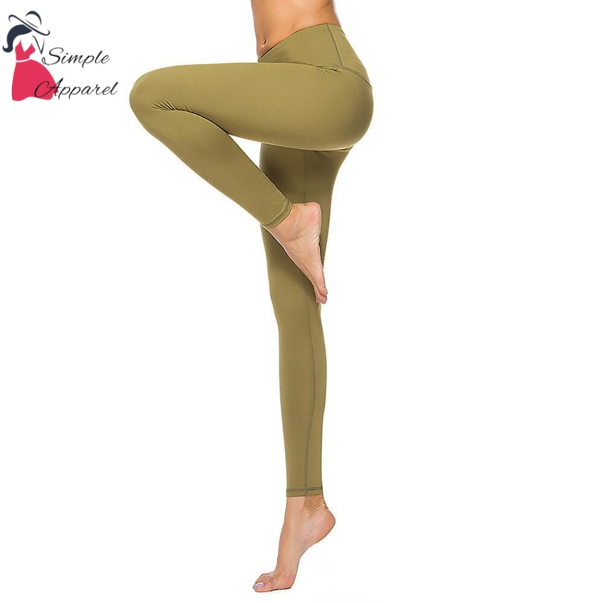 Quick-Drying Running Tight Compression Yoga Pants Green / Xl