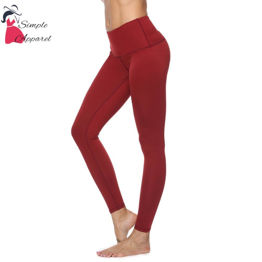 Quick-Drying Running Tight Compression Yoga Pants Red / M