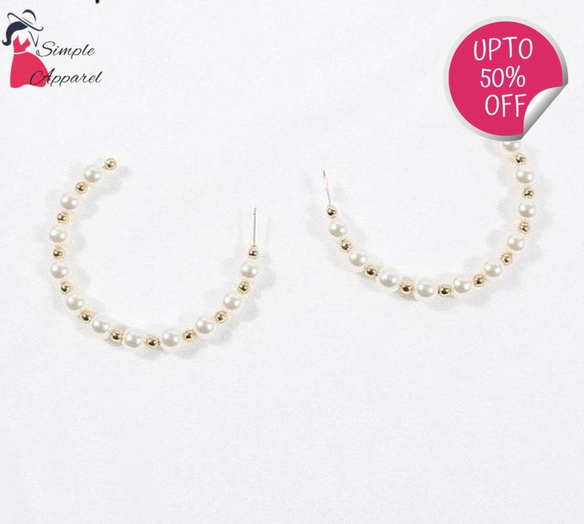 Round-Shaped Pearls Earring