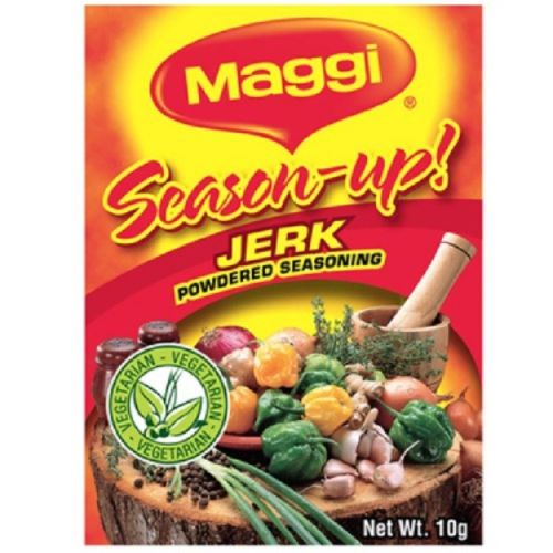 maggi season up jerk powdered seasoning 10 g (Pack of 12) - JamaicanFavorite