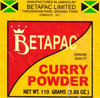 100 percent jamaica betapac curry powder genuine quality curry seasoning 110g