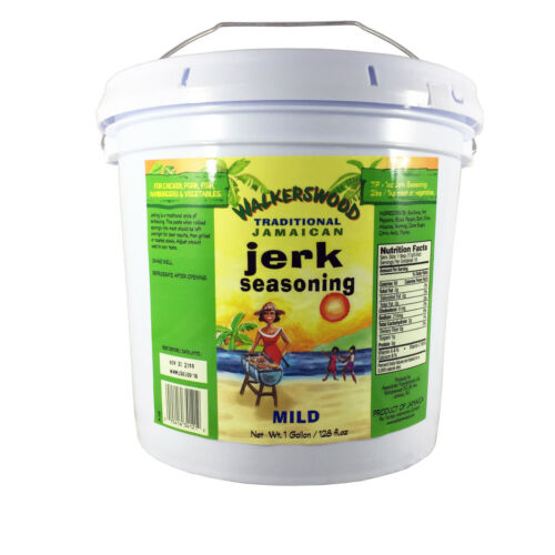 1 gallon walkerswood jamaican authentic jerk seasoning mild