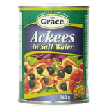 grace jamaican ackee in salt water 540 ml - JamaicanFavorite