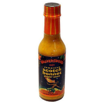 walkerswood jamaican hot scotch bonnet pepper sauce 5 oz - JamaicanFavorite
