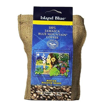 100% jamaica blue mountain coffee island blue roasted beans 8 oz - JamaicanFavorite