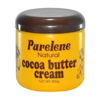 purlene natural cocoa butter cream for all skin types jamaican lotion 455g - JamaicanFavorite