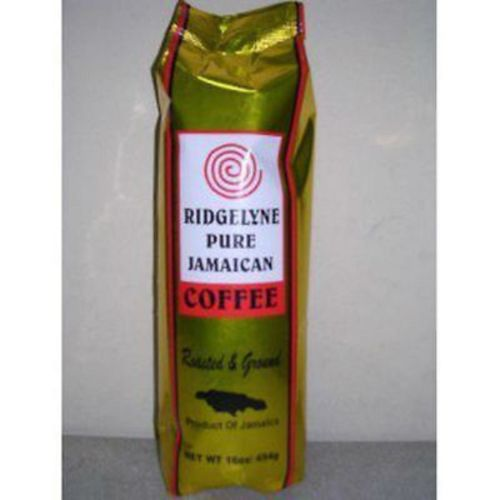 ridgelyne pure jamaican coffee roasted & ground coffee 16 oz - JamaicanFavorite