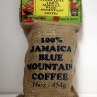 100 percent jamaica blue mountain coffee ridgelyne best roasted whole beans 16oz