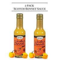 2 grace scotch bonnet pepper hot sauce 5 oz