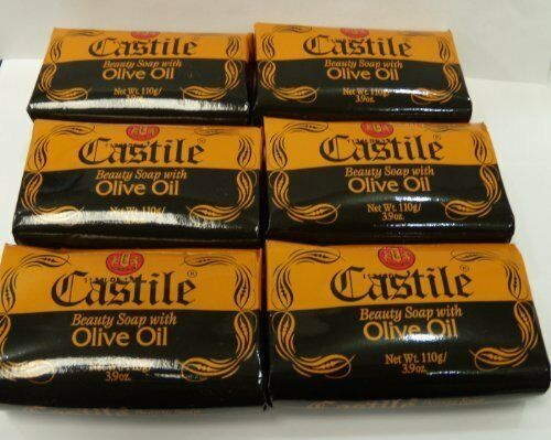 6 castile beauty soap with olive oil