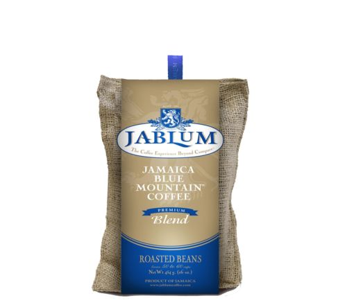 jablum jamaica blue mountain coffee premium blend whole beans ground coffee - JamaicanFavorite