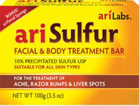 arisulphur facial bar soaps body treatment acne razor bumps liver spots all skin
