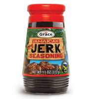grace jamaican hot jerk seasoning spicy authentic taste 11 oz
