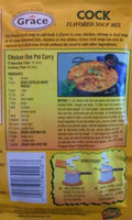 12 jamaican grace cock flavoured spicy noodle soup mix chicken beef pork 50g