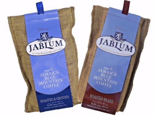 Jamaican Blue Mountain Coffee 100% Organic Roasted Whole Bean & Ground- JamaicanFavorite