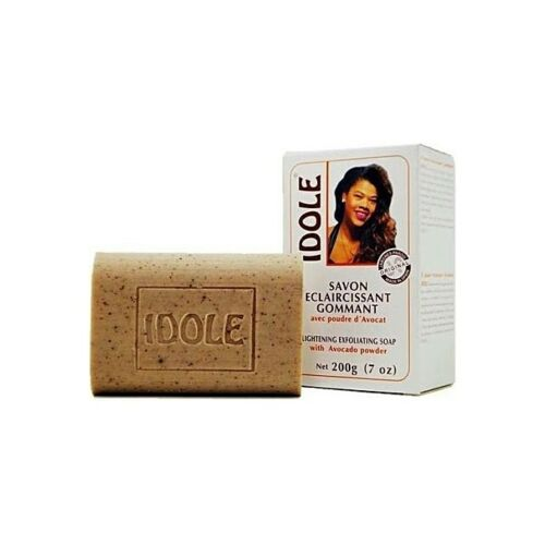 idole skin lightening exfoliating soap w/ avocado jabon exfoliante aguacate 7 oz