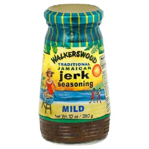 walkerswood traditional jamaican authentic jerk seasoning mild 10 oz - JamaicanFavorite