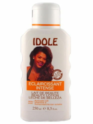 idole skin lightening lotion with avocado deep cleanse lighten complexion 8.5 oz