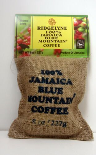 ridgelyne 100 percent jamaica blue mountain coffee best organic whole beans 8oz