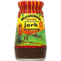 walkerswood traditional jamaican authentic jerk seasoning hot & spicy 10 oz - JamaicanFavorite