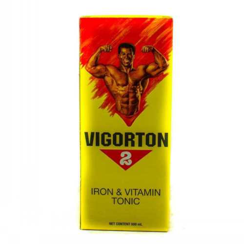 vigorton 2 iron & vitamin tonic 500 ml - JamaicanFavorite