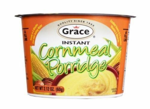 6 grace instant cornmeal porridge