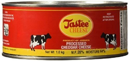 jamaican tastee cheese processed cheddar cheese spread nutritious vitamins 1 kg