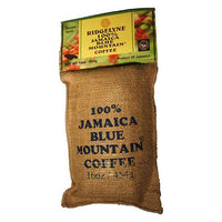 100% jamaica blue mountain coffee ridgelyne roasted beans 16 oz - JamaicanFavorite