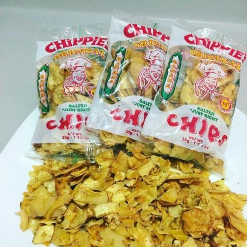 chippies 100% jamaican banana chips 1 oz (Pack of 12) - JamaicanFavorite