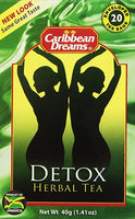 caribbean dreams cleansing detox herbal tea (Pack of 3) - JamaicanFavorite