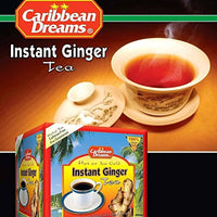 caribbean dreams instant ginger tea un-sweetened 14 sachets (Pack of 3) - JamaicanFavorite