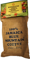 100% Jamaican Blue Mountain Coffee Organic Roasted Whole Beans & Ground