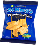 3 St. Mary's Plantain Chips 1 oz